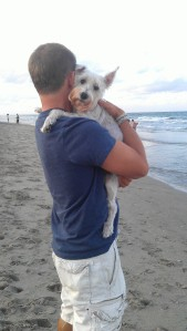 Pretzel at beach