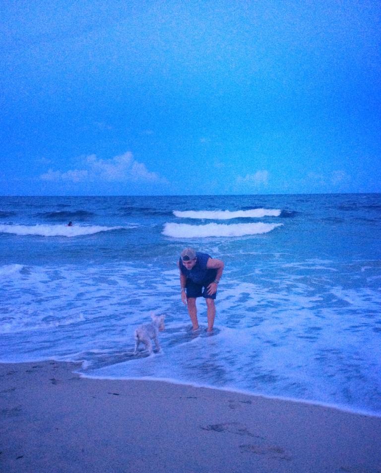 Pretzel swim ocean
