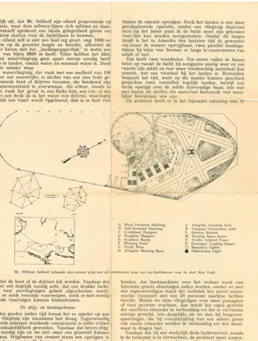 Grandfather's award winning design for Idlewood Airport (later Kennedy Airport)