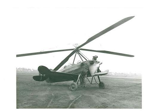 Autogyro my grandfather helped design