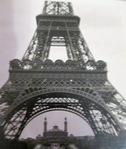 Photo my grandfather took of the Eiffel Tower, 1932