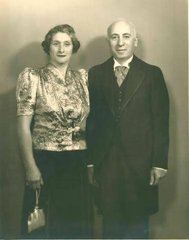 Grandfather's mother and father