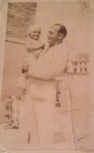 long beach 1930s dad with father