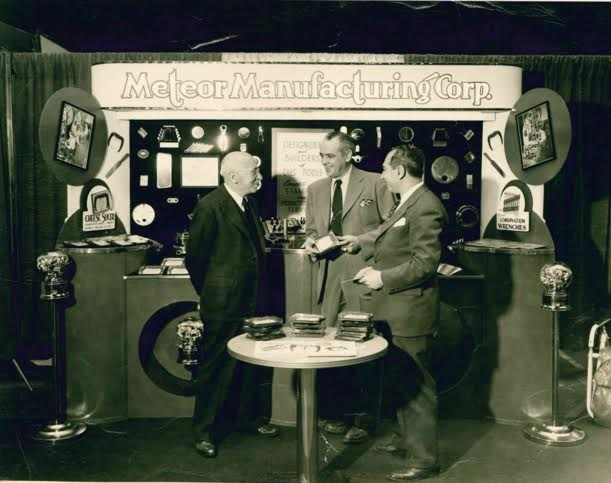 My gandfather (far right) was also an inventor and held many tool patents.