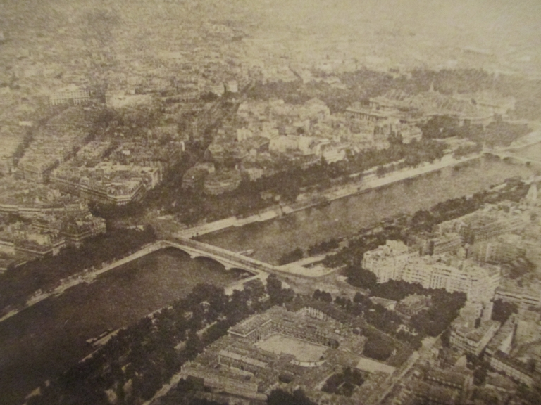 Photo my grandfather took of Paris atop the Eiffel Tower, 1932