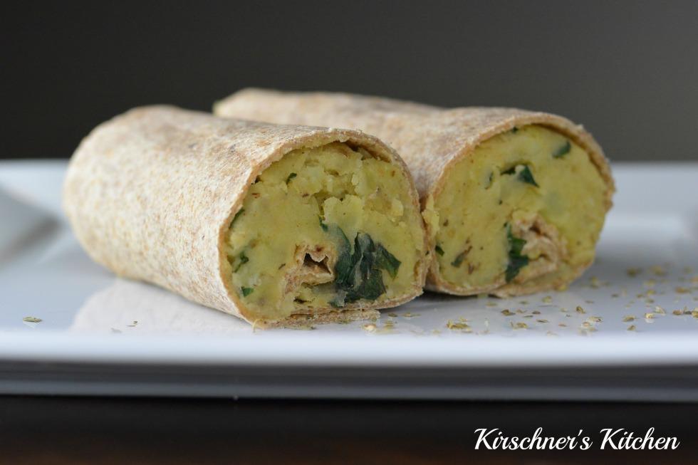 potato wrap