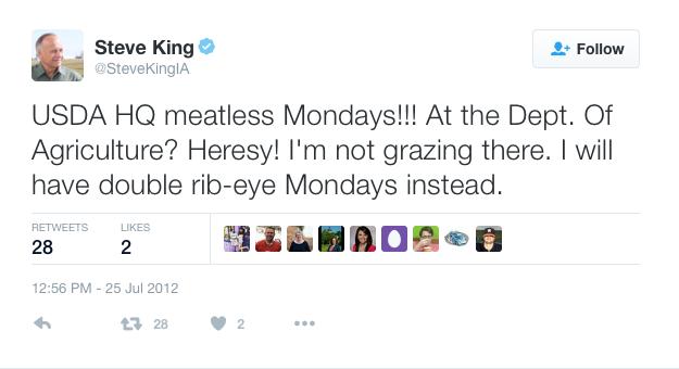 Steve King Twitter