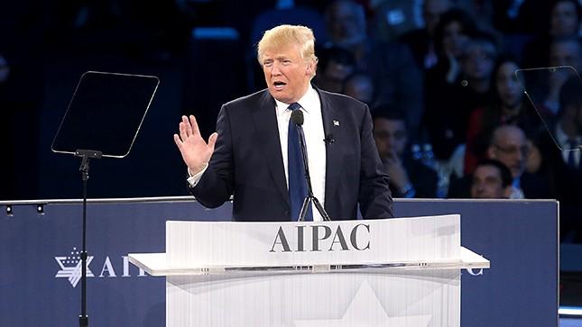 Trump teleprompter