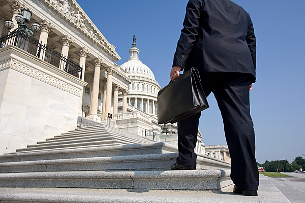lobbyist-on-capitol-steps